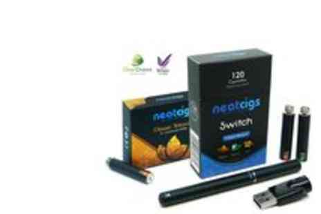 Neatcigs - ECigarette Kit and Refills - Save 67%