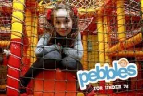 Boulders - Five Passes to Pebbles Kids' Adventure Play Area - Save 60%