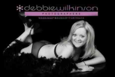 Debbie Wilkinson Photography - Boudoir Photoshoot With Makeover and A5 Print in a Box - Save 85%