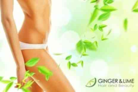 Ginger and Lime - IPL Hair Removal Six Sessions on Two Small and One Medium Area  - Save 60%