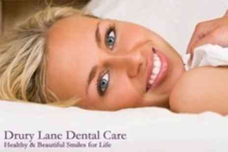 Drury Lane Dental Care Limited - Laser Teeth Whitening or Scale and Polish Plus Zoom Home Whitening Kit - Save 0%