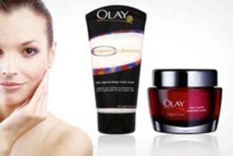Chemist 4 U - Olay Regenerist 3 Point Treatment Cream 50ml and Daily Regenerating Cream Wash 150ml - Save 75%