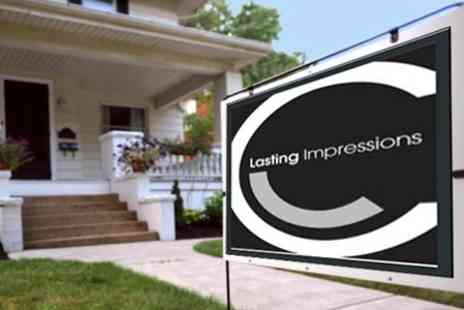 Lasting Impressions - Property Letting Agency Service for Managed Service - Save 62%