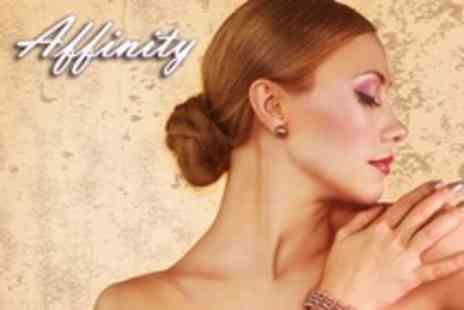 Affinity Hair and Beauty - Chocolate Facial With Shellac Manicure - Save 60%