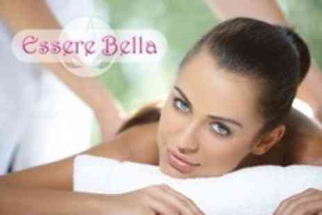 Essere Bella - Body Wrap and Full Facial - Save 73%