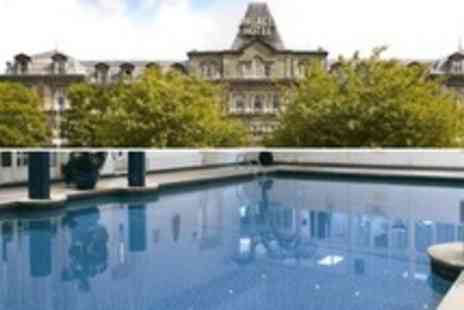 The Palace Hotel Buxton - Spa Day Hot Stone Massage and Decleor Facial with Two-Course Lunch For One - Save 54%