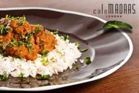 Cafe Madras - South Indian Meal For Two With Rice and Lassi - Save 60%