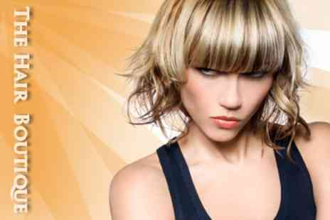 Hair Boutique - Full Head of Highlights or Lowlights, Cut, Finish and L'Oreal Treatment - Save 65%