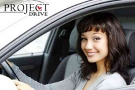 Project Drive - Three Hours of Driving Tuition Lessons - Save 75%