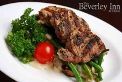 The Beverley Inn and Hotel - Steak Dinner For Two or Four With Wine - Save 43%