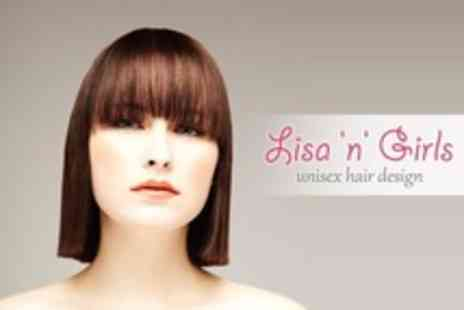 Lisa n Girls - Cut and Blow Dry With Conditioning Treatment - Save 55%