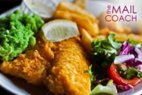 The Mailcoach - Two Course Brasserie Meal For Two - Save 62%