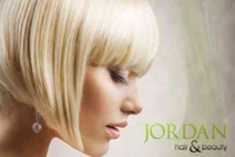 Jordan James Hair and Beauty - Half Head Highlights or Full Head Tint With Cut and Blow Dry - Save 71%