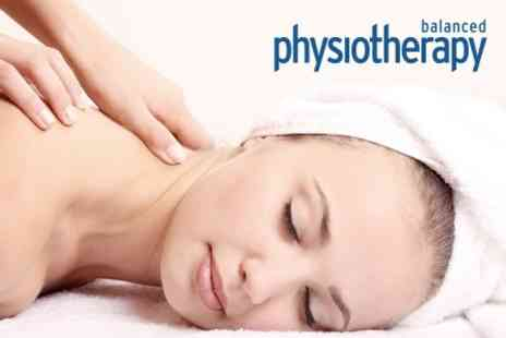Balanced Physiotherapy - Choice of 30 Minute Massage - Save 61%