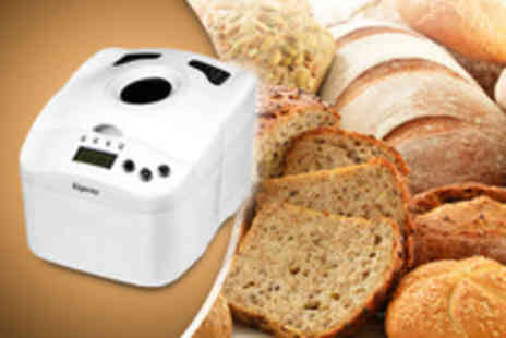 GimmeSome.co.uk - An Elgento digital breadmaker with 6 different programmes - Save 52%