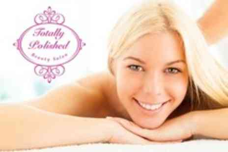Totally Polished Beauty salon - One Hour Massage With Facial - Save 64%