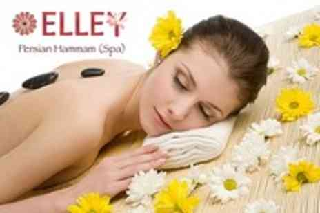 Elley Persian Hammam Spa - Hot Stone Massage Plus Manicure and Pedicure - Save 57%