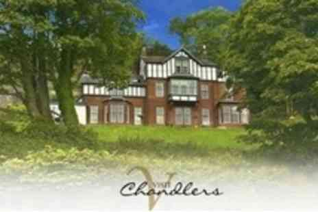 Chandlers Hotel - Two Night Stay For Two With Breakfast and Bottle of Bubbly - Save 34%