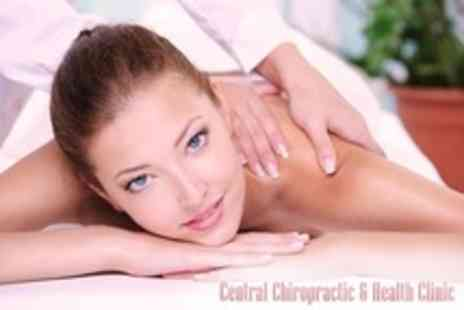 Central Chiropractic - Choice of One Hour Massage Such as Sports,Therapeutic or Relaxation - Save 67%
