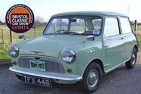 Bristol Classic Car Show - Classic Minis Show Plus Great Western Autojumble Tickets For Two - Save 57%