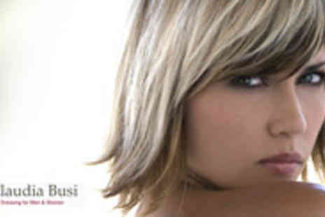 Claudias Hair - Get Half Head Highlights, Cut and Blow Dry - Save 64%