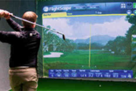 Cheshire Indoor Golf - Indoor golf simulator for up to 4 people - Save 53%