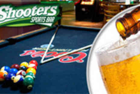 Shooters Bar Liverpool - Two hours of pool for two people with food and beer - Save 52%
