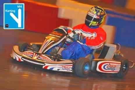M4 Karting - 40 Lap Go Karting Session For Adults - Save 50%