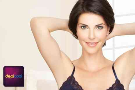DepiCool - Six IPL Hair Removal Sessions on One Standard and up to Nine Small Areas - Save 94%