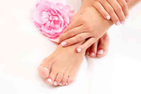 The Day Retreat - Manicure and pedicure - Save 70%