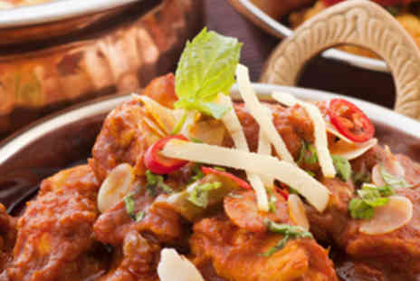 Bengal Brasserie - Meal for Two with Mains, Rice, Nan and Wine - Save 57%