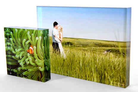 Brilliant Prints - Free Standing Acrylic Lumi Tile - Save 43%