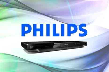 Outlet Zone - Philips 3D Blu Ray DVD Player - Save 45%