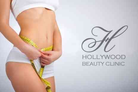 Hollywood Beauty Clinic - Three Sessions of Ultrasound Lipo Cavitation - Save 80%