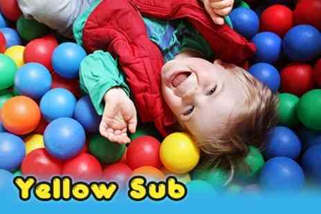 Yellow Sub - Entry For Two Children to Yellow Sub for £4.95 with Fruit Shoot Drink Each - Save 62%