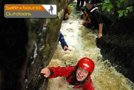 Safe & Sound Outdoors - Either Gorge Walking or Rock Climbing Full Day - Save 61%