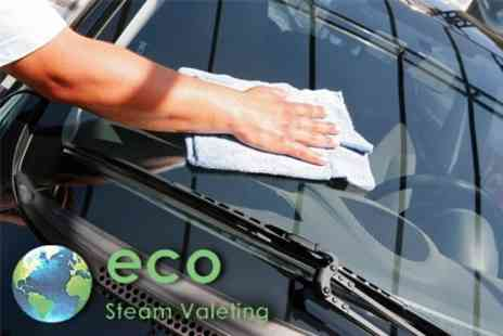 Eco Steam Valeting - Exterior and Interior Car Valet - Save 60%