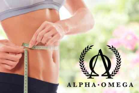 Alpha Omega Boutique - Five Ultrasound Cavitation Weight Management Treatments - Save 90%