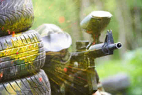 Nationwide Paintball - Full Day Paintballing for 10 People - Save 93%