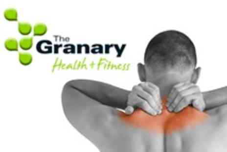 The Granary Health and Fitness - One Clinical Sports Massage Sessions With Consultation - Save 67%