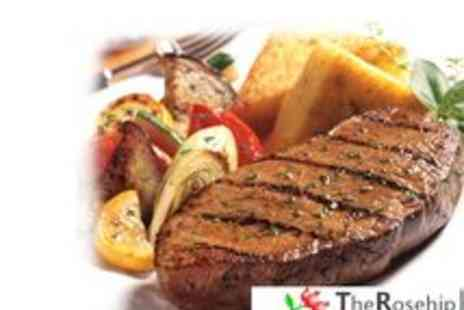 The Rosehip Bar & Restaurant - Steak Meal for  two - Save 51%