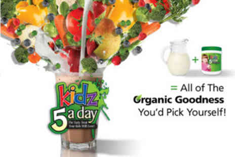 Kidz 5 a day - 1 Month Supply of 5 a Day Milkshake - Save 60%