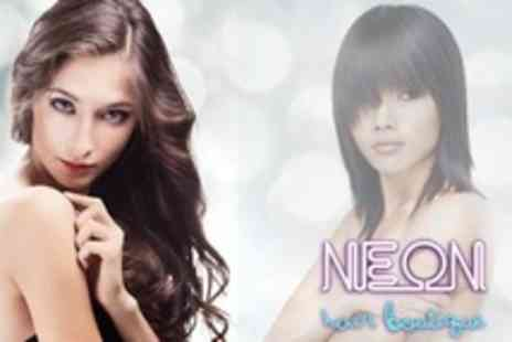 Neon Hair Boutique - Cut, Condition and Blow Dry Plus Gloss Treatment - Save 67%