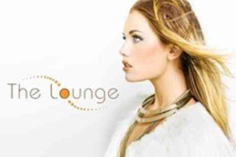 The Lounge - Half Head Highlights With Cut and Finish Plus Make Up - Save 66%
