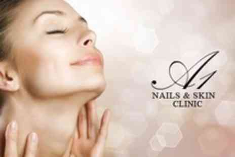 A1 Nails & Skin Clinic - Three Diamond Microdermabrasion Sessions - Save 58%