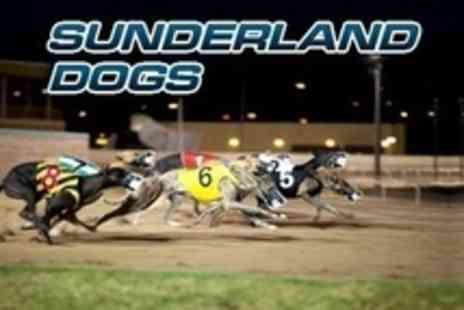 Sunderland Dogs - Admission, Food, Drinks, Race Cards and Nightclub Entry For Two - Save 50%