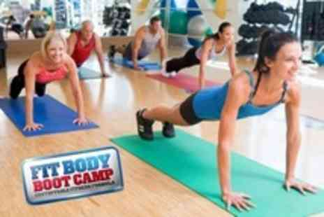 Fit Body Boot Camp - Eight Indoor boot camp Sessions For One - Save 50%