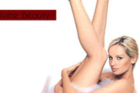 Divine Beauty - Waxing voucher  including Hollywood, full leg, eyebrows, under arm, upper lip & chin - Save 58%