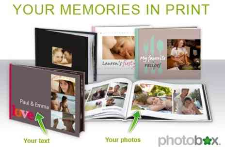 Photo Box - Create your own personal Photo Book of your treasured snapshots - Save 70%