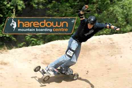 Haredown Mountain Boarding Centre - Two Hour Hire And Ride Session For Two - Save 64%